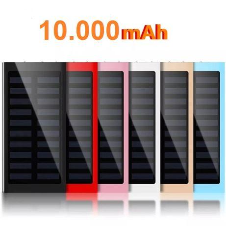 Power Bank Solar 10.000mAh portátil bateria de carregamento rápido