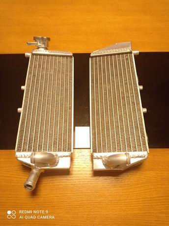 Radiadores de aluminio KTM SX EXC 250 e 300 de 2017 e 2018