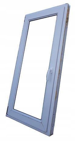 okna kacprzak okno pcv 66x136 używane z demontażu