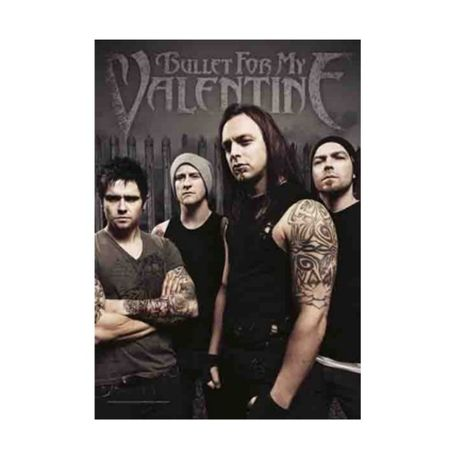 Bullet For My Valentine - Bandeira Band Members
