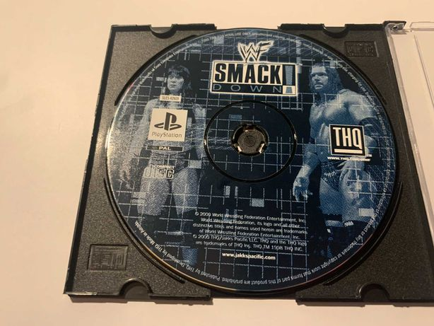 SmackDown Playstation 1 PS1