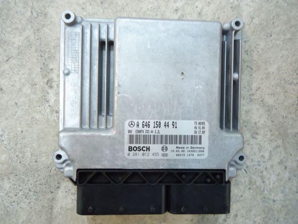 Блок управления двигателем A6461504491 Мерседес W211 OM646 2.2CDI
