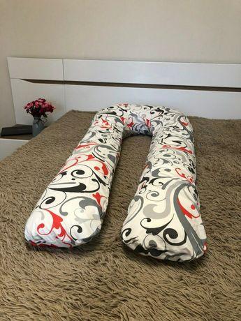 Подушка для беременных 150см с наволочкой