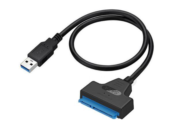 PC - Cabo USB 3.0 para SATA III - 22 Pinos - NOVO