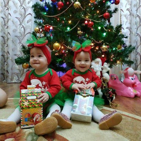 Новорічні костюми для двойни.двійнят.близнят.близнецов.