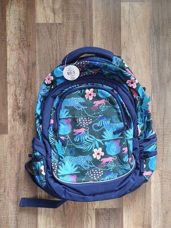 Duży plecak szkolny dziewczęcy młodzieżowy paperdot
