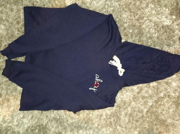 Bluza typu crop top