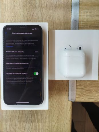 Iphone X/64gb+Airpods