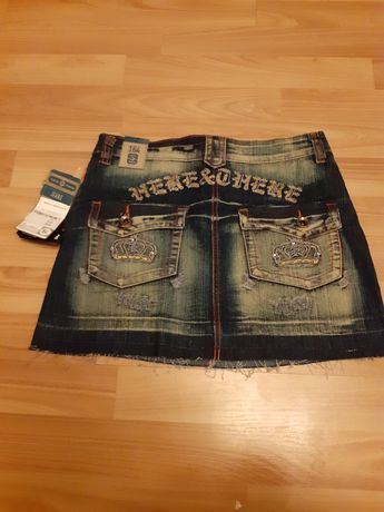 Nowa z metką jeensowa spódniczka mini