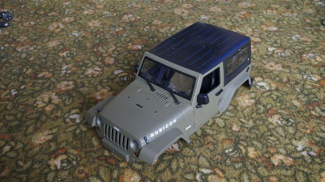 Nowa Rc jeep Rubicon karoseria z twardego plastiku
