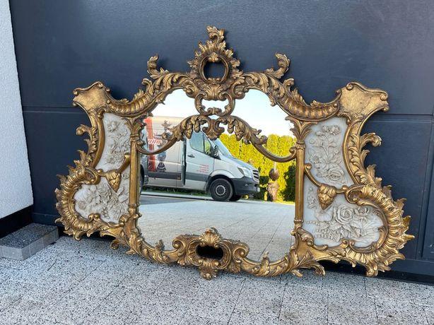 Золотое зеркало с алебастровой картиной