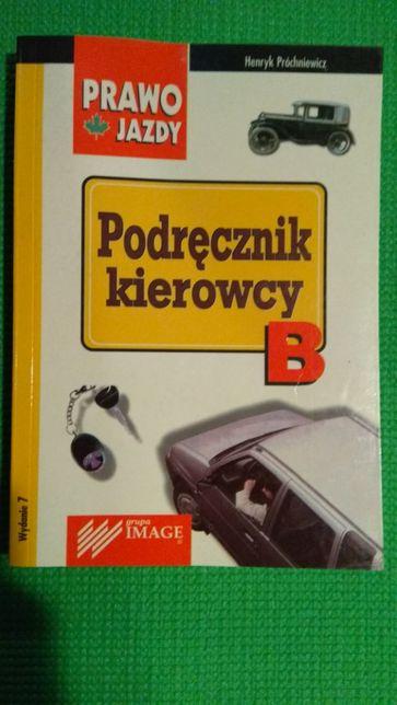 Podręcznik kierowcy B Prawo jazdy