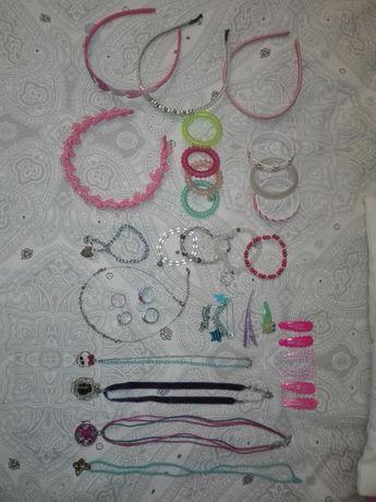 Zestaw biżuterii ozdoby dla dziewczynki 34szt. Monster high, Trolle