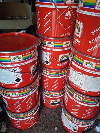 Farba poliuteranowa ral  7045 malchem 100 litrów