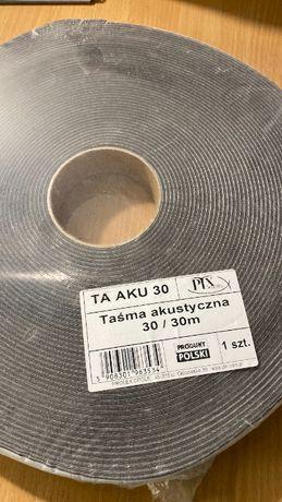 Taśma akustyczna do montażu płyt G-K 3cm x 30m