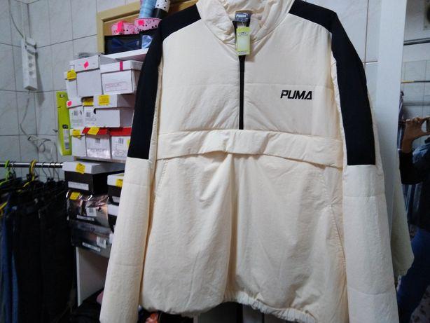 Oryginalna sportowa kurtka zimowa puchowa męska puma, XL