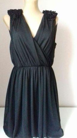Sukienka kopertowa,mała czarna,Sylwester