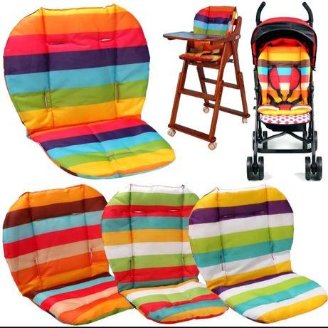 Colchonete ou almofada para bebê, capa de chuva para carrinho