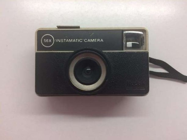 Máquina Fotográfica: Kodak Instamatic Camera 56x