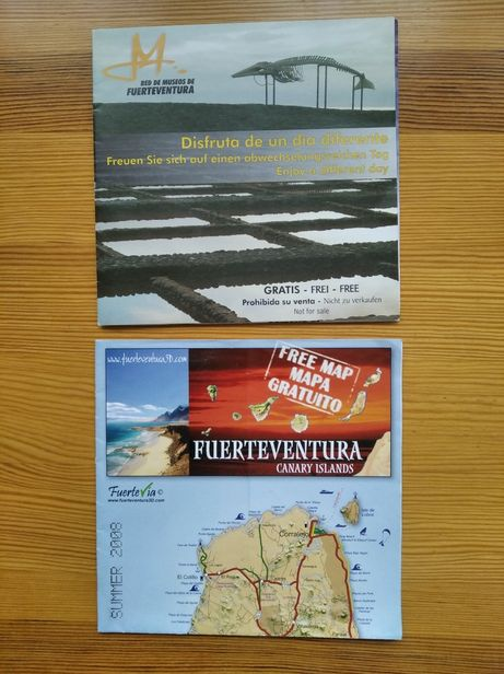 Mapy Wysp Kanaryjskich Fuerteventura