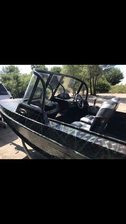 Продам лодку Казанка 5М2 Yamaha 50