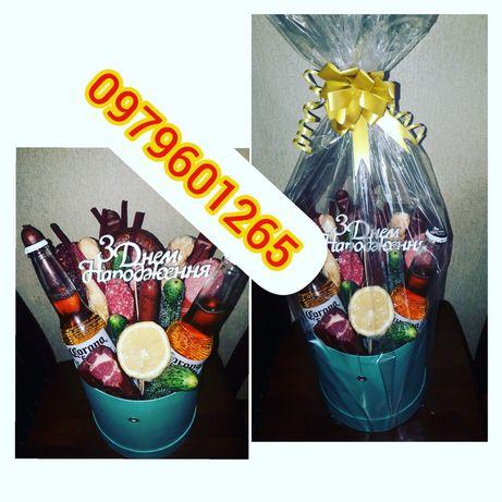 Съедобные букеты/подарунки/їстівні букети/букети із цукерок/