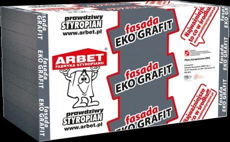 Styropian Arbet FASADA GRAFIT λ031