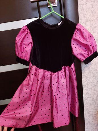 Нарядное платье,велюровое,под ретро