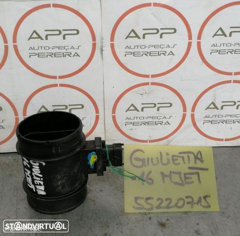 Medidor de massa de ar Alfa Romeo Giulietta de 2012 1.6 MJET, ref 55220715.
