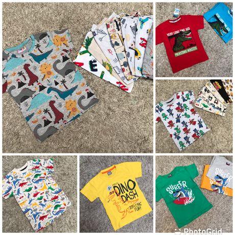 Футболка с динозавром на мальчика/футболка на хлопчика 86-140