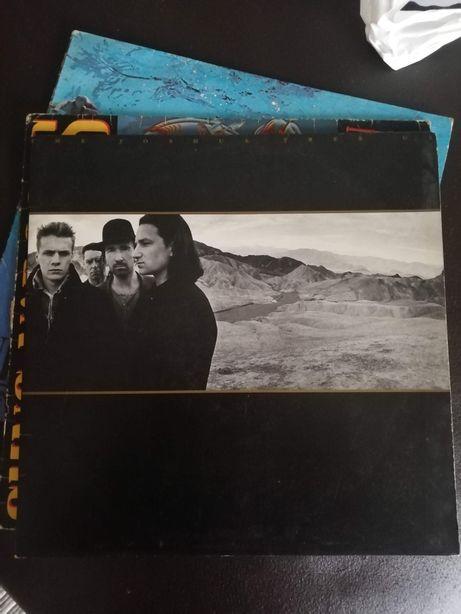 Álbum vinil LP dos U2 Joshua Tree