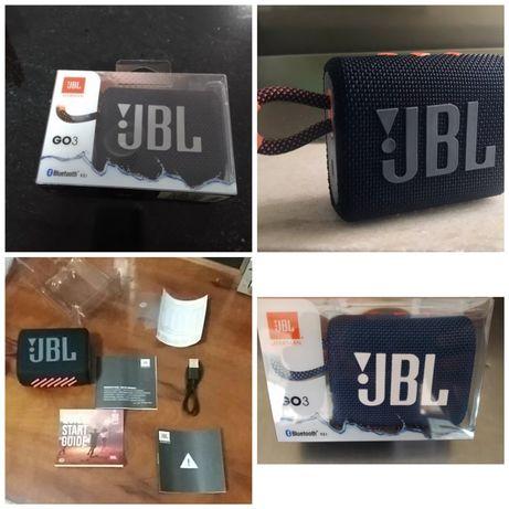 Jbl Go 3 Bluetooth várias cores (envio grátis)
