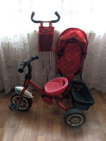 Azimut Trike Красный