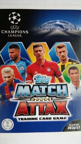 Karty Topps Match Attax Ch.L. 2016/17