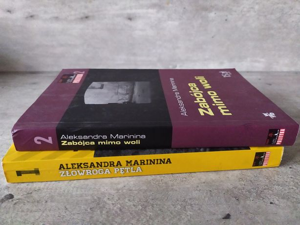 Książki Aleksandra Marinina