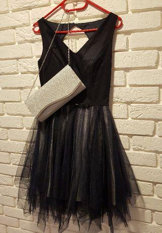 imprezowa sukienka S 50zł
