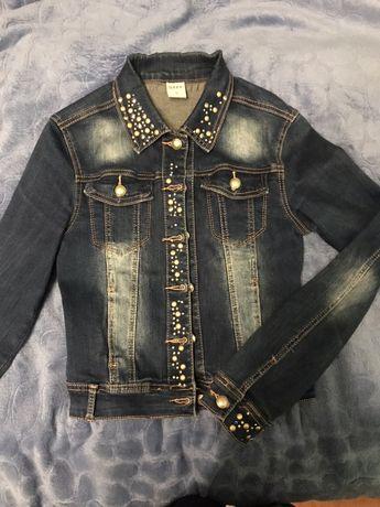 Джинсовий піджак/джинсовая куртка/ пиджак