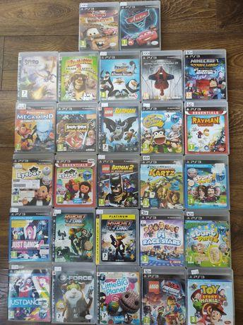 Gry dla dzieci PS3, PlayStation3, Minecraft, Spiderman,Rayman, Batman,