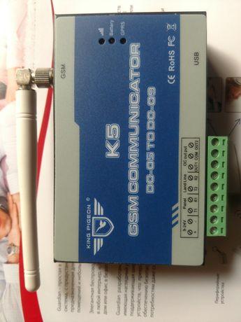 Коммуникатор К5 GSM для Satel, DSC, Jablotron, Pima