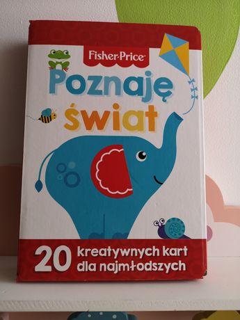 Poznaję świat Fisher price karty kreatywne