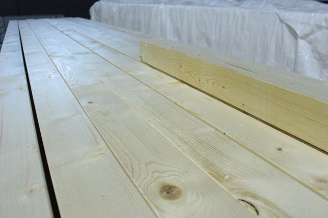 Drewno konstrukcyjne Śląsk, strugane i suszone, certyfikowane C-24