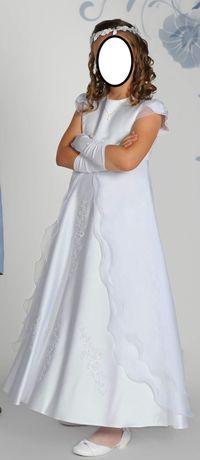 Sukienka komunijna rozm.134