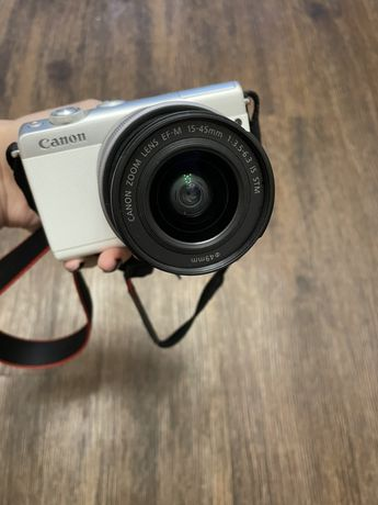 Фотоаппарат Canon EOS M100 15-45mm IS STM Kit White (2210C048AA) Подро