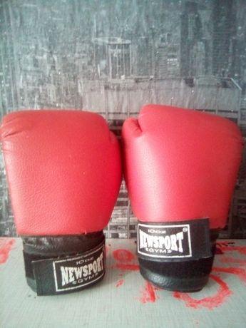 боксерские перчатки или обмен на продукты
