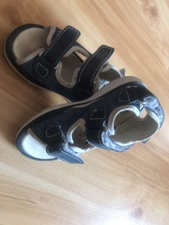 Sandały sandałki Primigi r.22 jeansowe niebieskie denim