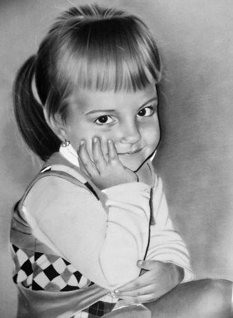 портрет на замовлення олівцем портрет на заказ карандашом