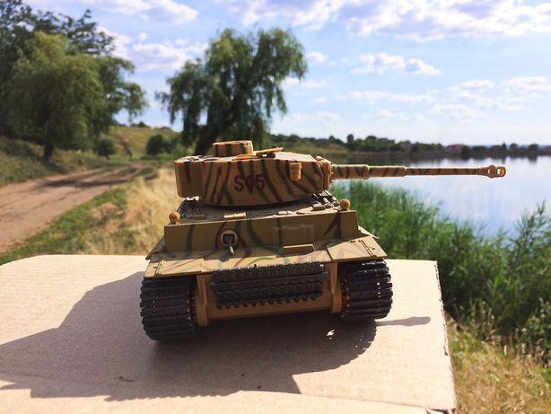 Танк «Tiger» на батарейках. 1:32