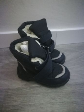 Botas para a neve