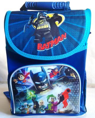 Рюкзак школьный ортопедический ранец для мальчика Lego Бетмен