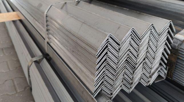 Kątownik stalowy, kątowniki stalowe, zimnogięte, kątowniki metalowe